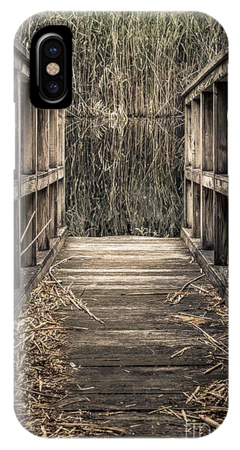 Walkway IPhone X Case featuring the photograph Walkway Out by Isabelle Morley