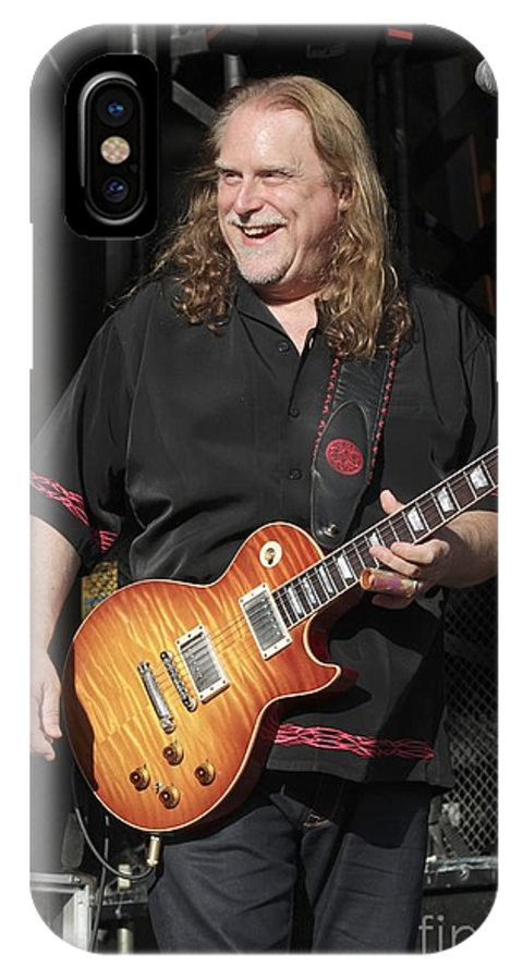 Singer IPhone X Case featuring the photograph Warren Haynes by Concert Photos