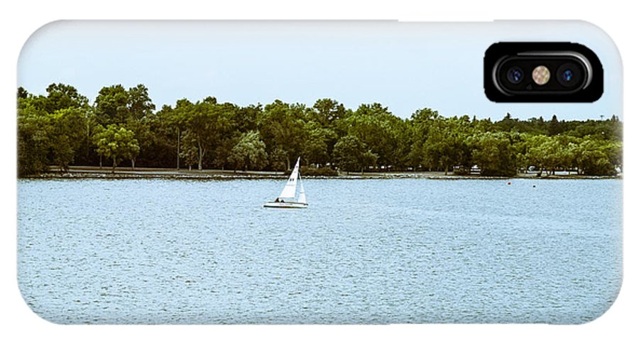 Wind IPhone X Case featuring the photograph Wascana -22 by David Fabian