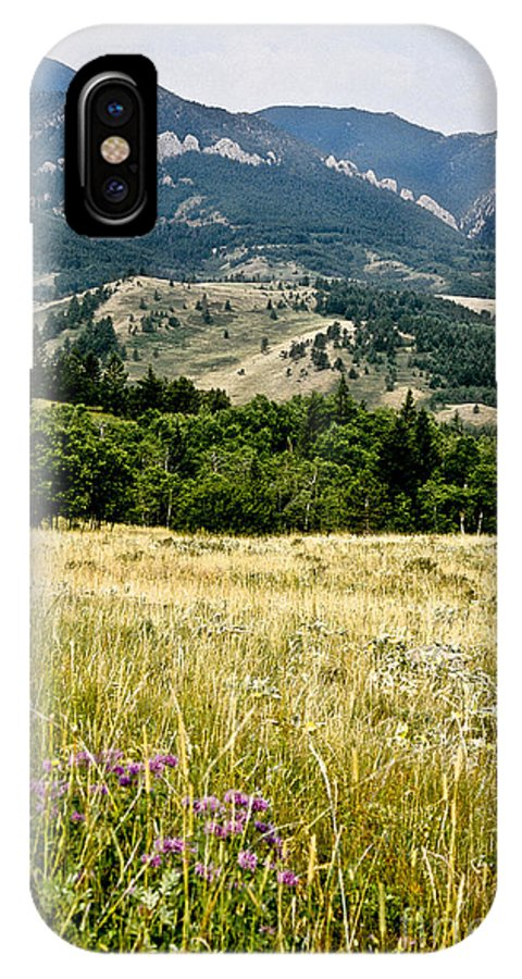 Wilderness IPhone X Case featuring the photograph Washake Wilderness by Kathy McClure