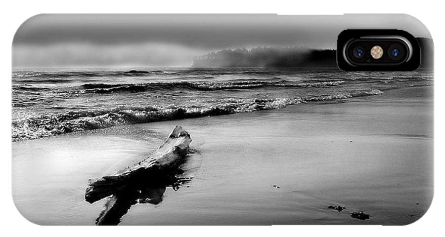 Washington IPhone X Case featuring the photograph Washington Coast by John Anderson