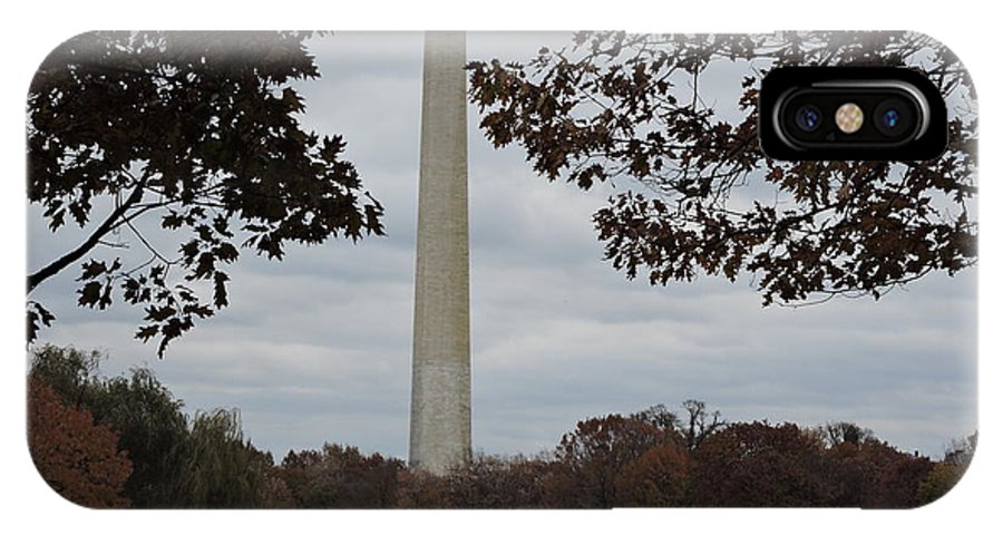 Monument IPhone X / XS Case featuring the photograph Washington Monument by Beth Williams