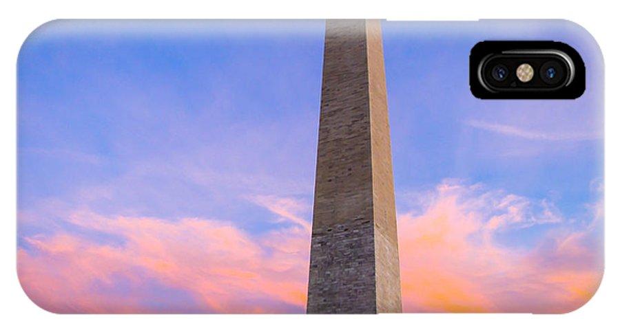 Washington IPhone X Case featuring the photograph Washington Monument by J Havnen