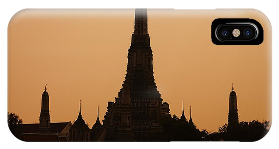 3scape Photos IPhone X Case featuring the photograph Wat Arun by Adam Romanowicz