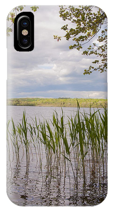 Photography IPhone X Case featuring the photograph Watchaug Pond by Steven Natanson