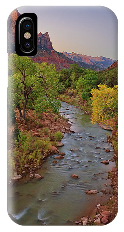 2010 Zion Bryce IPhone X Case featuring the photograph Watchman 2010 by Ralph Nordstrom