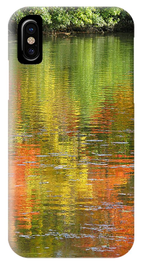 Autumn IPhone Case featuring the photograph Water Colors by Ann Horn