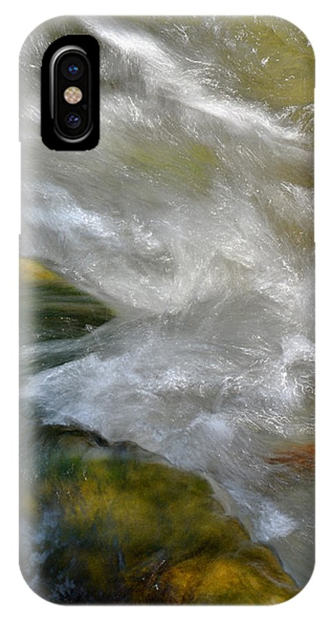 Water IPhone X Case featuring the photograph Water - Flow Of Life 1 by Karen W Meyer