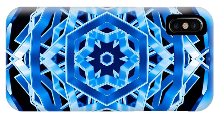 Sacredlife Mandalas IPhone X Case featuring the photograph Water Walker by Derek Gedney