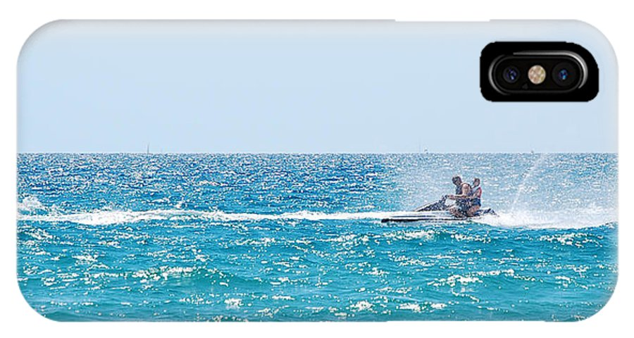 Watercraft IPhone X Case featuring the photograph Watercraft by Gina Dsgn