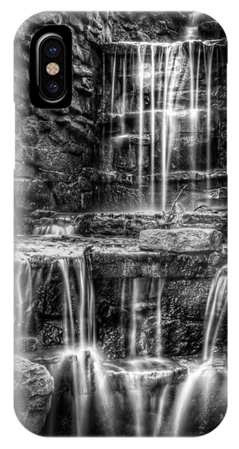Waterfall IPhone X Case featuring the photograph Waterfall by Scott Norris
