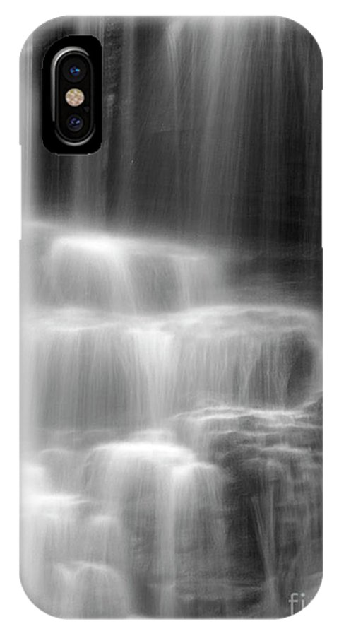 Waterfall IPhone X Case featuring the photograph Waterfall by Tony Cordoza