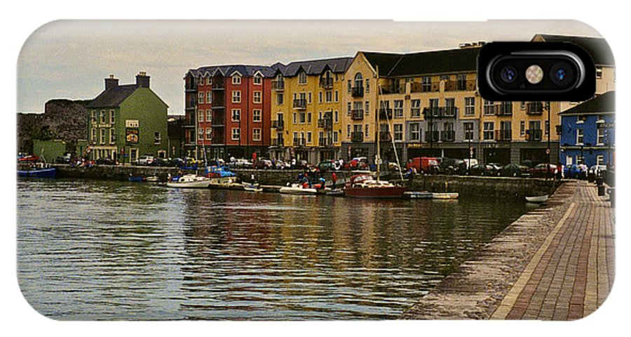 Waterford IPhone X Case featuring the photograph Waterford Waterfront by William Norton