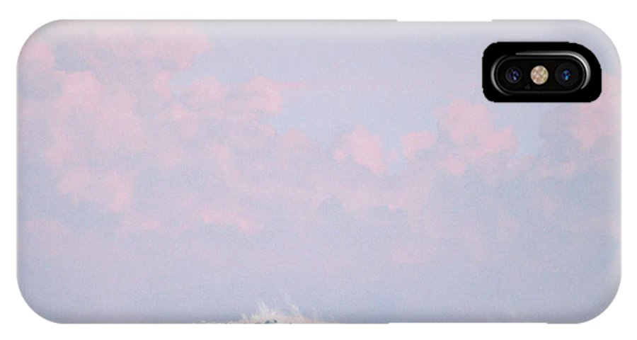 Wave IPhone Case featuring the painting Wave At Twilight by Philip Fleischer