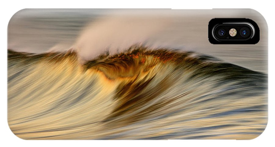 Orias IPhone X Case featuring the photograph Wave C6j2640 by David Orias