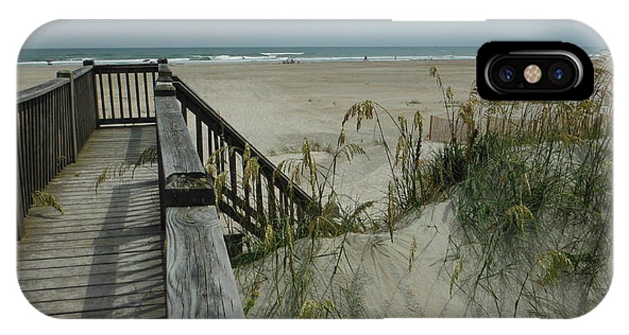 Ways To Get To The Beach IPhone X Case featuring the photograph Ways To The Beach Series 5 by Paddy Shaffer