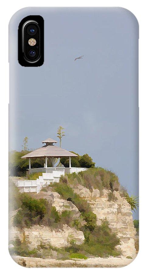 Gazebo IPhone X Case featuring the photograph Wedding Gazebo by Jody Lovejoy