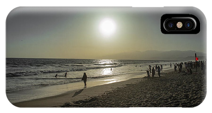 Beach IPhone X / XS Case featuring the photograph West Coast Sunset by Dylan Grant