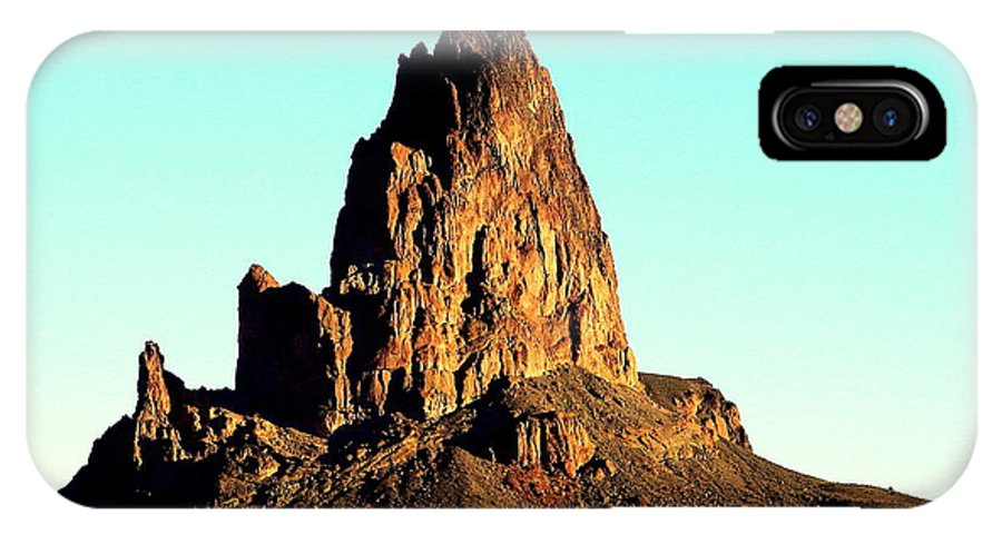 Desert Butte IPhone X Case featuring the photograph Western Usa Butte by John Potts