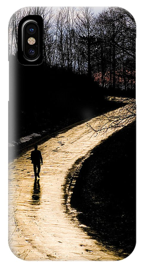 Where - Mehmet Dag IPhone X Case featuring the photograph Where by Mehmet Dag
