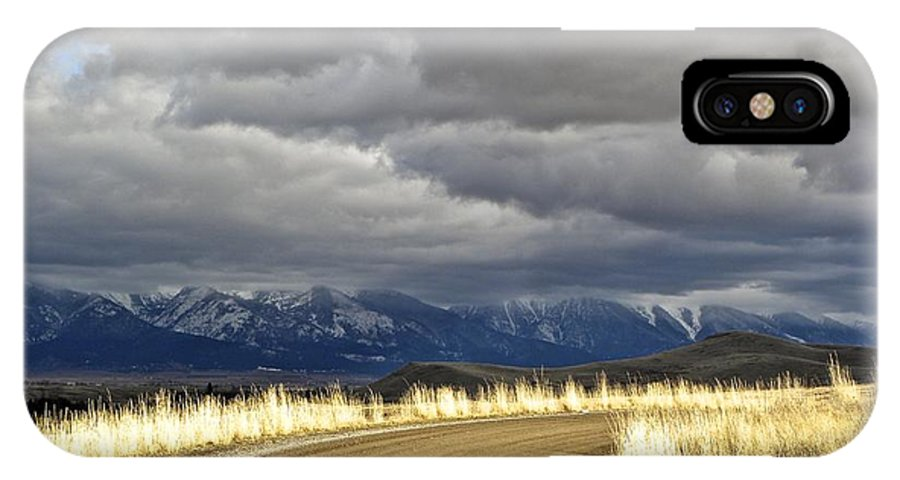 Mountains IPhone X Case featuring the photograph Where The Mountains Meet You by Tisha Clinkenbeard