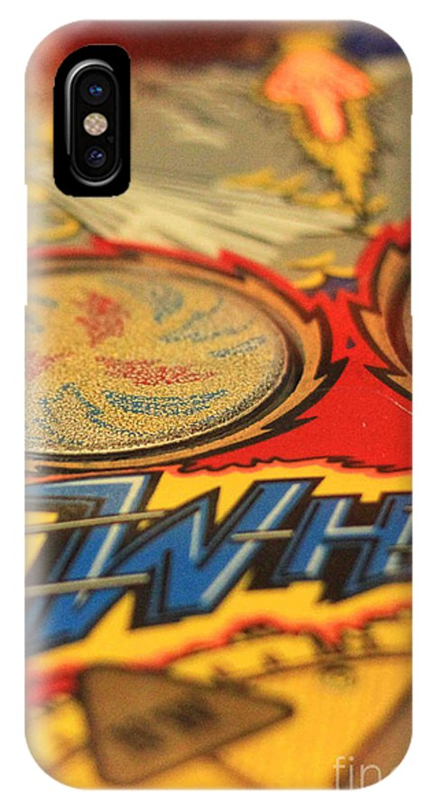 Pinball IPhone X Case featuring the photograph Whirl by K Hines