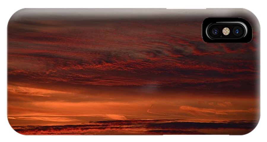 Clouds IPhone X Case featuring the photograph Whisp by Nikki Watson  McInnes
