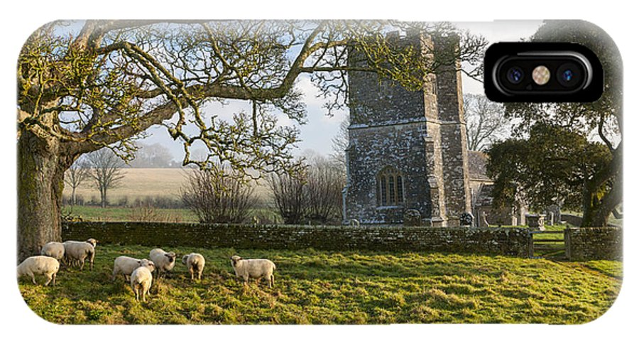 12th IPhone X Case featuring the photograph Whitcombe Church by Sebastian Wasek