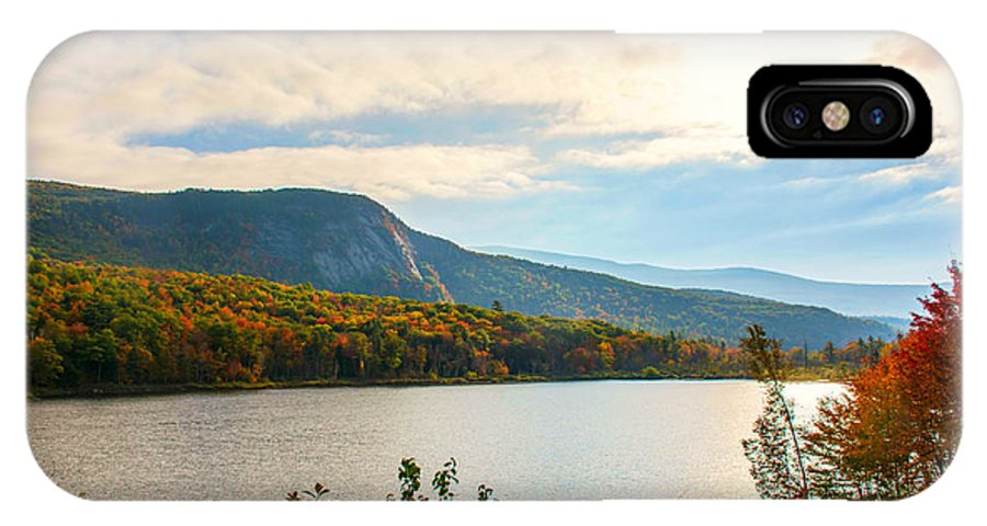 New Hampshire IPhone X Case featuring the photograph White Mountain Range by Sherman Perry