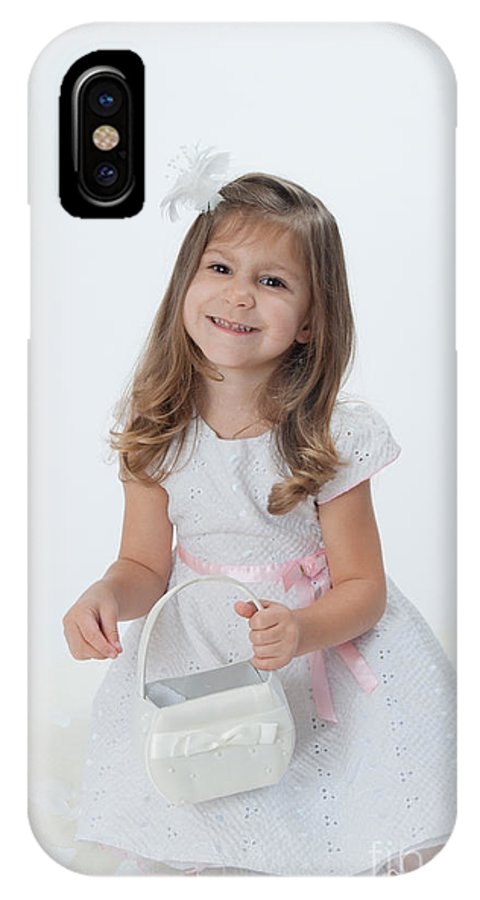 IPhone X Case featuring the photograph White On White by Alana Ranney