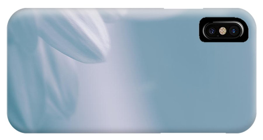 Daisy IPhone X Case featuring the photograph Whiteness 02 by Aimelle