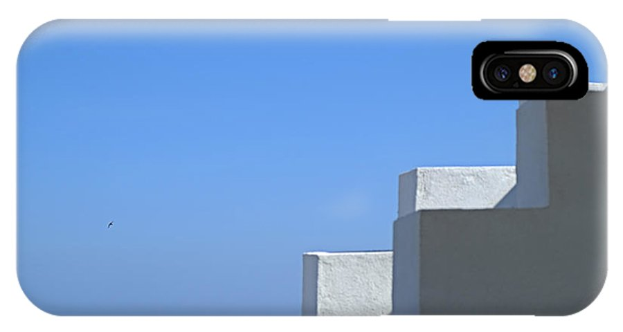 Polignano A Mare IPhone X Case featuring the photograph Who You Are by Gianmarco Cicuzza