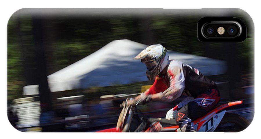 Photos 2014 Washougal Ama Pro National Motocross Races IPhone X Case featuring the photograph Whoops 4 by Brian McCullough