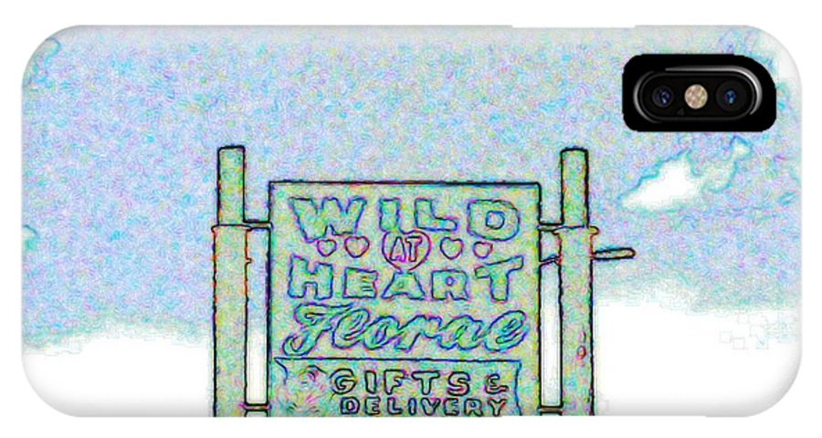 IPhone X / XS Case featuring the photograph Wild At Heart by Kelly Awad