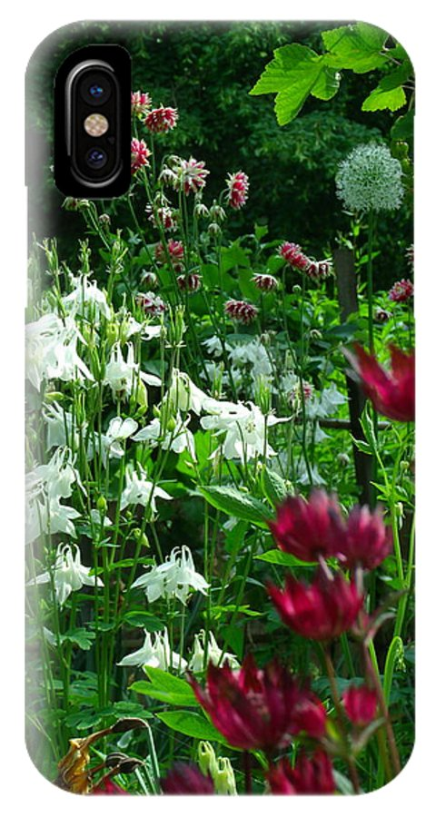Flowers IPhone X Case featuring the photograph Wildflowers by Jessica Myscofski