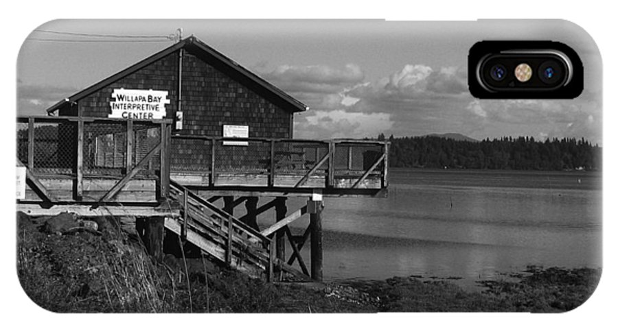 IPhone X Case featuring the photograph Willapa Bay I C by Jeff Wilson