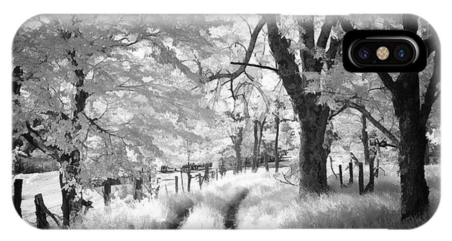 Blue Ridge Parkway IPhone X Case featuring the photograph Winding Journey Through The Blue Ridge by Dan Carmichael