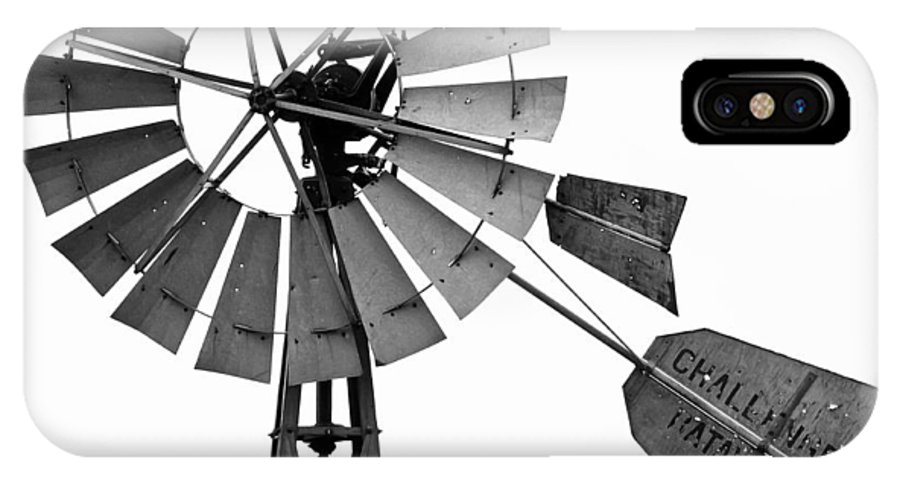 Windmill IPhone X Case featuring the photograph Windmill by Gene Rodman