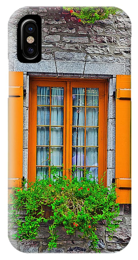 Window IPhone X Case featuring the photograph Window by ALI Gohar