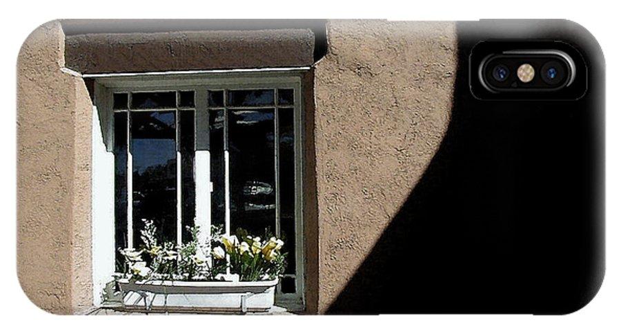 Window IPhone X Case featuring the photograph Window by Jim Jones