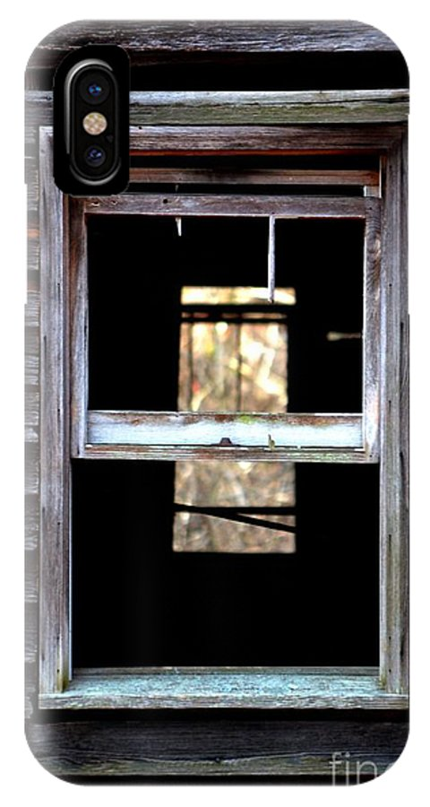 Window IPhone X Case featuring the photograph Windows by Carlee Ojeda