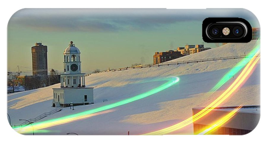 Windy And Cold IPhone X / XS Case featuring the photograph Windy And Cold by John Malone