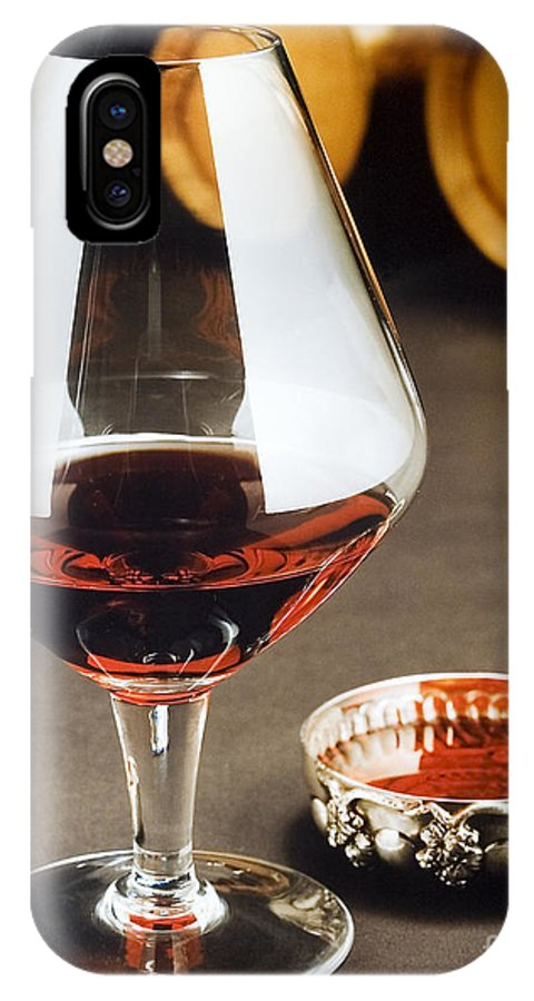 Wine IPhone X Case featuring the photograph Wine Tasting by Jerry McElroy