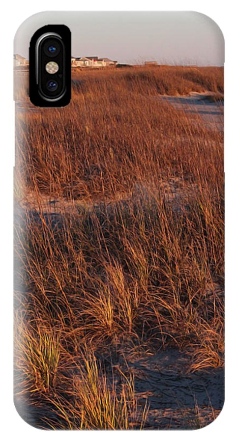 Dunes IPhone X Case featuring the photograph Winter Dunes Iv by Suzanne Gaff