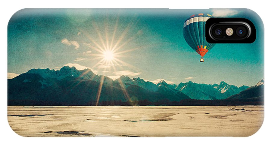 Alaska IPhone X Case featuring the photograph Winter Flight by Michele Cornelius