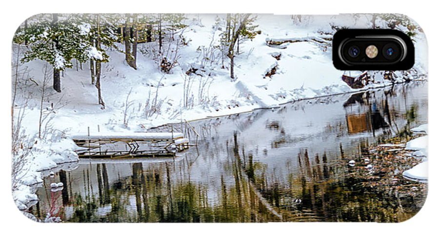 Upper Peninsula IPhone X Case featuring the photograph Winter In The Up by Winnie Chrzanowski