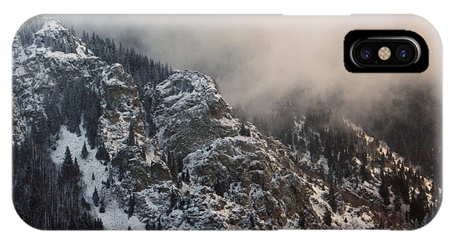 Winter IPhone X Case featuring the photograph Winter Mist by Dimitar Smilyanov