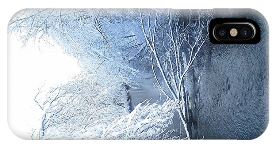 Winter IPhone X / XS Case featuring the photograph Winter Wonderland by Michele Scott