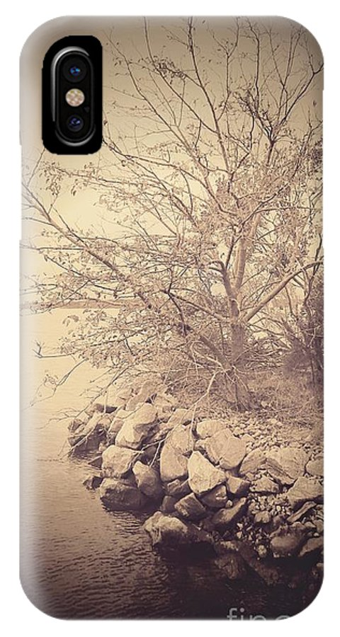 Tree IPhone X Case featuring the photograph Winters Edge by Heather Taylor