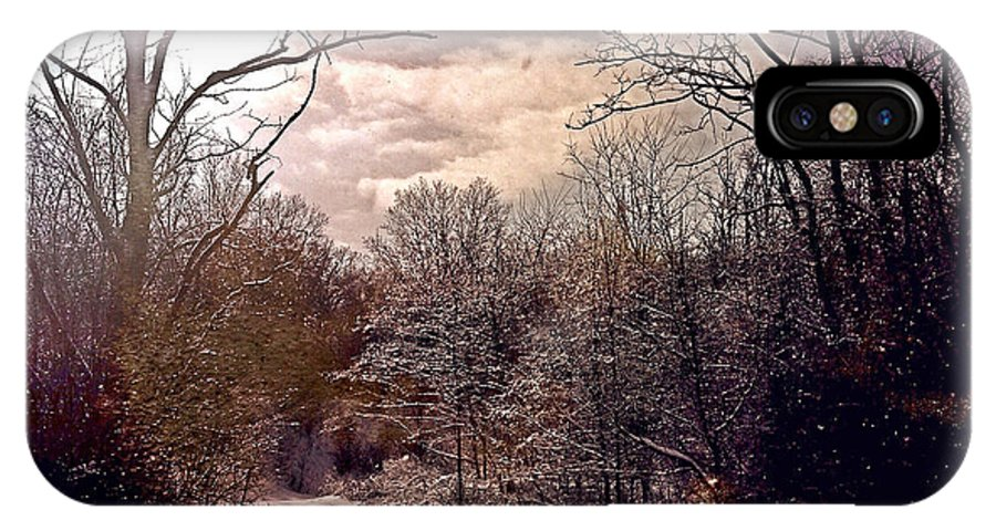 Photography IPhone X Case featuring the photograph Wisconsin Winter by Gregg Jabs
